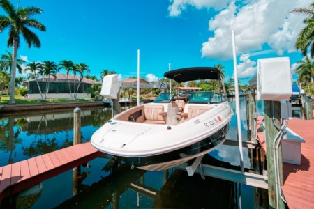 Boat-Rental-Cape-Coral-Sea Ray SDX 240