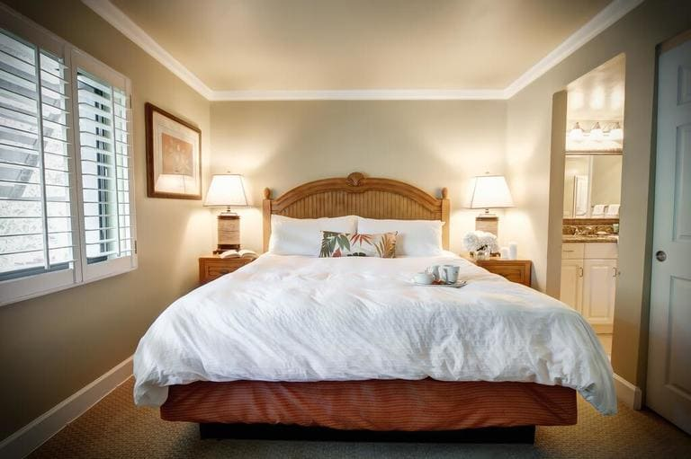 Room with bed from Casa Ybel Resort on Sanibel Island