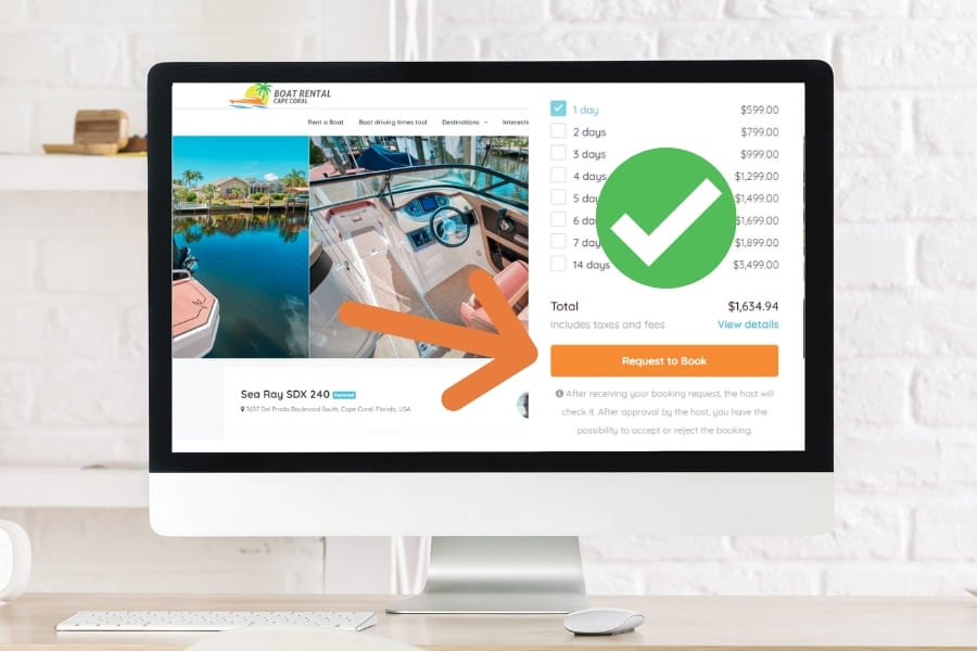 Customer Help Manual How can i book on Boat-Rental-Cape-Coral