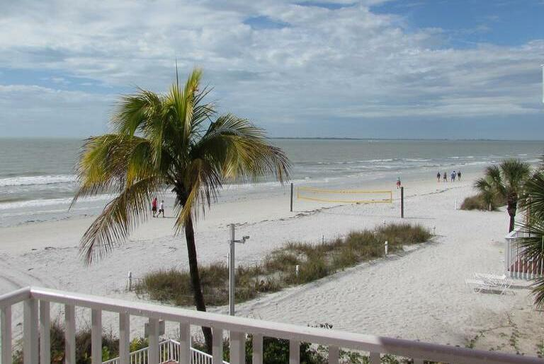 View from the Edison Beach House in Fort Myers Beach