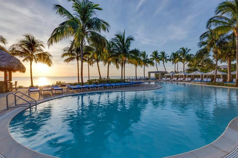 Pool from South Seas Island Resort on Captiva Island