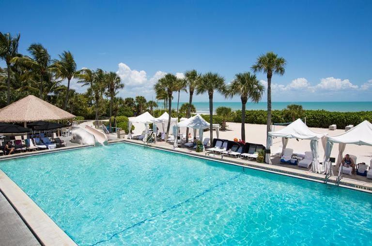Pool at Sanibel Beach Resort Spa on Sanibel Island